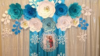 Frozen Party Theme || DIY Frozen Birthday Party Decorations || Birthday Decoration Ideas