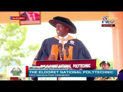 DP Ruto's speech at Eldoret National Polytechnic graduation ceremony
