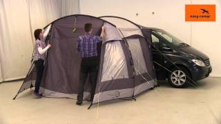 Easy Camp Silverstone Bus Tent Pitching Video | Just Add People