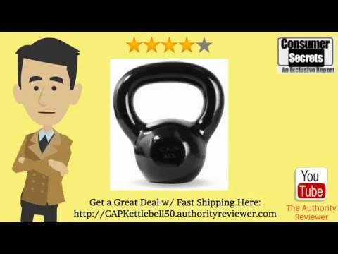 [Review & SALE] CAP Barbell Enamel Coated Cast Iron Kettlebell