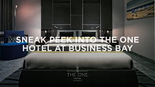 The One Hotel At Business Bay - Interior Visuals