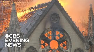 Notre Dame cathedral suffers extensive damage in massive blaze