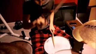 """Plastic Tramp"" by Arctic Monkeys drum cover"