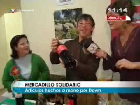 Veure vídeo Síndrome de Down: Mercadillo solidario