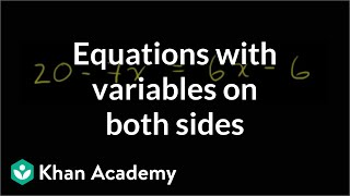 Solving Equations 2