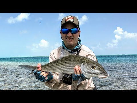 Los Roques - Bonefish on the Flats