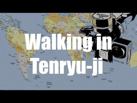 Tenryu-ji Walk, Kyoto, Japan  -  Virtual Trip