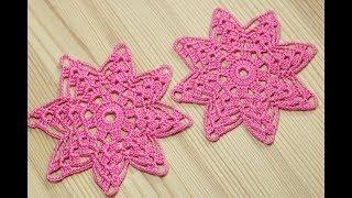 Ажурный красивый мотив крючком - мастер класс - Crochet motif patterns