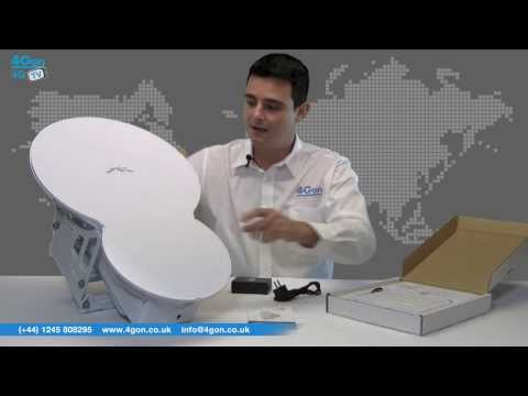 Ubiquiti airFiber 24 Point-to-Point Link Video Review / Unboxing