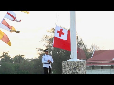 Kingdom of Tonga - Flag Lowering Ceremony - His Majesty King Tupou VI Official Birthday