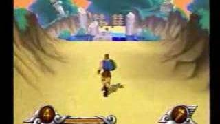 Disney's Hercules Action Game video