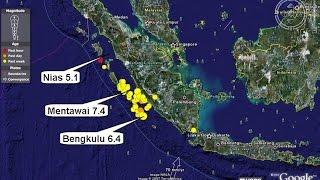 Menurut BMKG Inilah Daerahdaerah Terancam Tsunami Akibat Gempa Mentawai