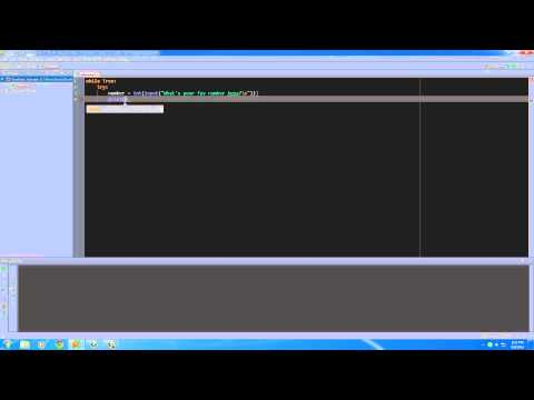 Python Programming Tutorial – 28 – You are the only Exception