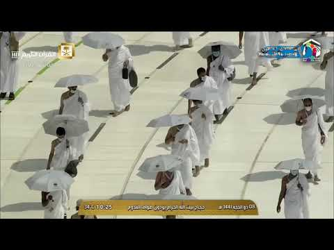 Unique visuals as Muslims begin downsized Hajj pilgrimage