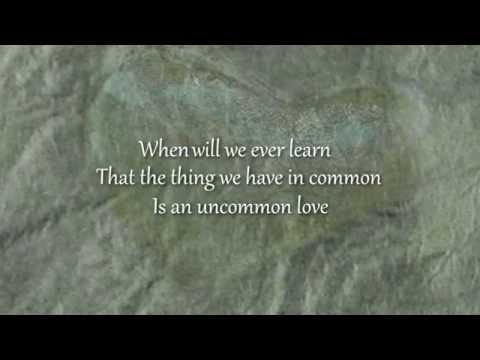 An Uncommon Love (Letra)