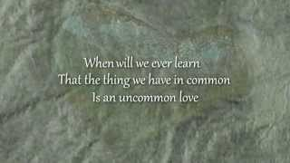 An Uncommon Love (Letra) - Carole King (Video)