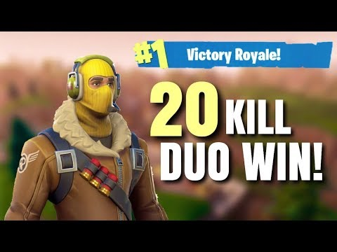 Fortnite • 20 KILL GAME