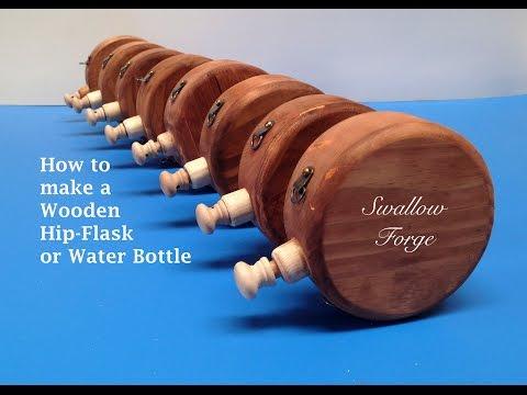 Trinkflasche aus Holz - keine Angst vor Splittern