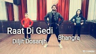 Gambar cover Diljit Dosanjh | Raat Di Gedi | Bhangra
