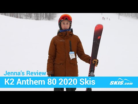 Video: K2 Anthem 80 Skis 2020 8 50