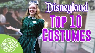 Top 10 Cast Member Costumes | Disneyland as voted by YOU!