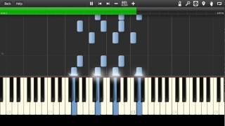 AC/DC - Damned Synthesia Tutorial