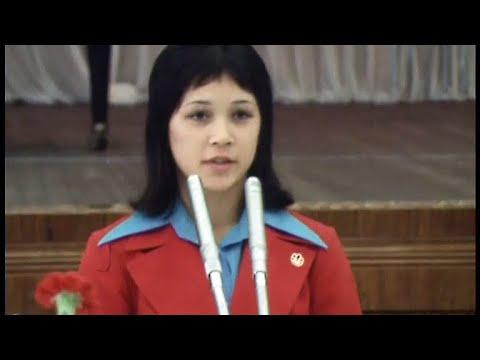 Приём в Кремле в честь победителей XXI Олимпийских игр в Монреале 13 08 1976