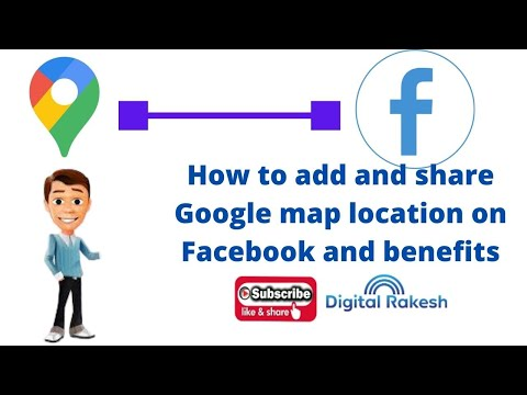 Google map location on Facebook and benefits