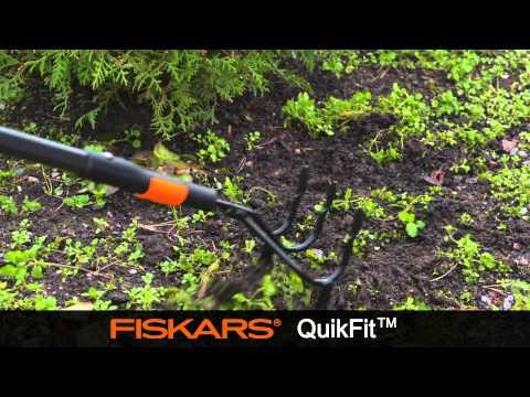 3 zaru kaplis Fiskars QuikFit 136512 cena un informācija   Dārza instrumenti   220.lv