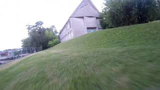 Fpv drone at playground