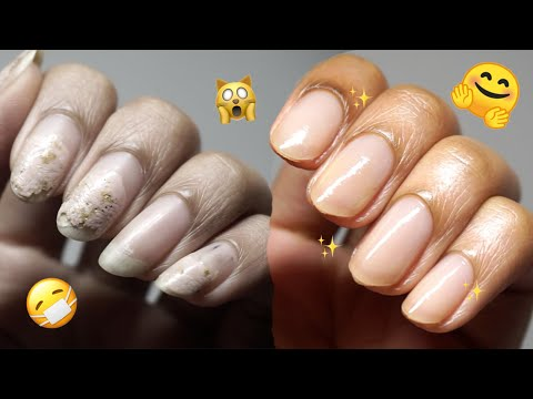 Bye Busted Nails 👋 the Ultimate Fall Nail Care Routine for the Short Nail Bounce Back