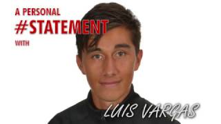 Personal #STATEMENT Luis Vargas