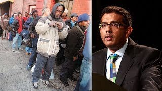 Dinesh Brilliant Response to Who'se Keeping Black People Poor!