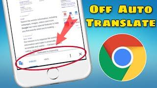 Chrome Auto Traslate Close || Close Auto Translate webpage popup || Sujay infotech