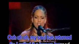 Lesson learned - Alicia Keys feat. John Mayer (Karaoke)