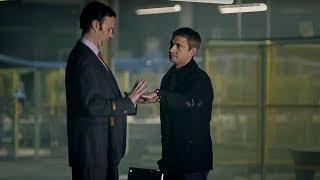John Watson Meets Mycroft Holmes - Sherlock - BBC