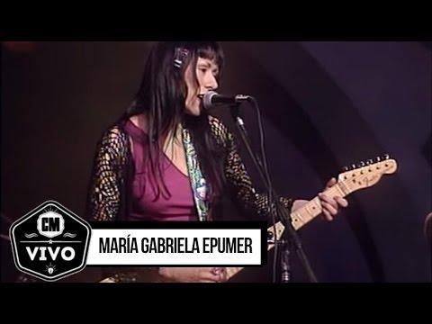 María Gabriela Epumer video CM Vivo 1998 - Show Completo