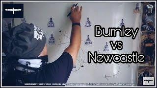 Tactics board | Burnley v Newcastle United | Preview