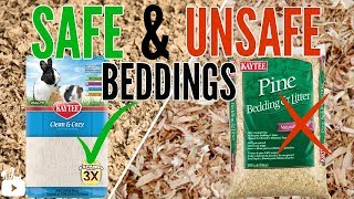 What is best bedding for hamsters