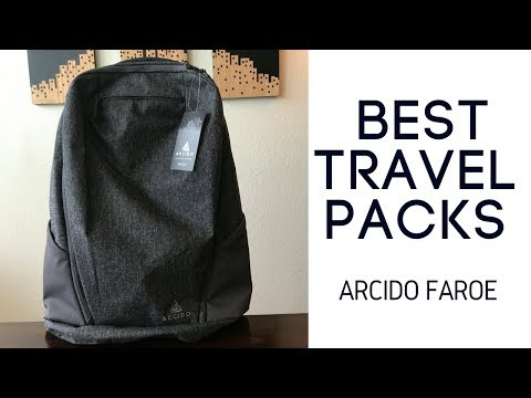 Best Travel Backpacks: Arcido Faroe Travel Backpack Review