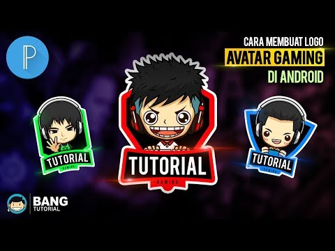Cara Membuat Logo Avatar Gaming di Hp Android | PIXELLAB TUTORIAL #4