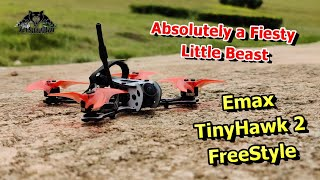 EMAX TinyHawk 2 Freestyle FPV Racing Drone Hands on Flight Review