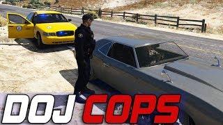Dept. of Justice Cops #622 - Taxi Cab Undercover