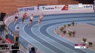 Meeting de Val de Reuil 2018 : Amandine Brossier en 23''64 sur 200 m
