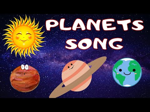 Download Planets Song Learn The Planets Nursery Rhyme Kids Song