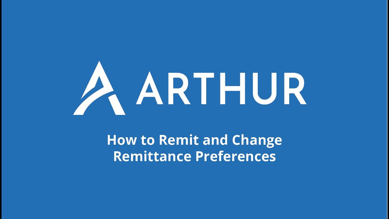 Watch How to change Remittance Preferences