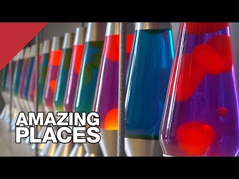 Lava Lamps Help Keep The Internet Secure??