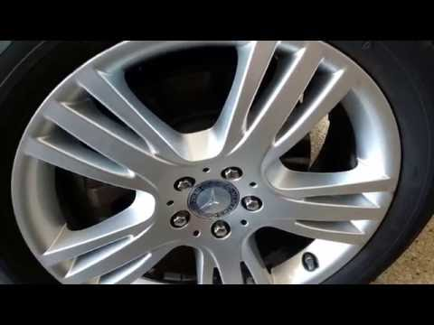 Mercedes Benz GLK350 how to detail clean rims my way by froggy