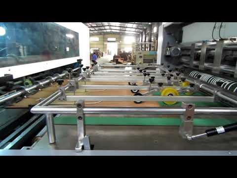 Semi-Automatic Die Cutting Machine for Rigid Box