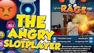 The Angry Slotplayer (Rage, Twitch Fail, Twitch Moments) From Live Stream